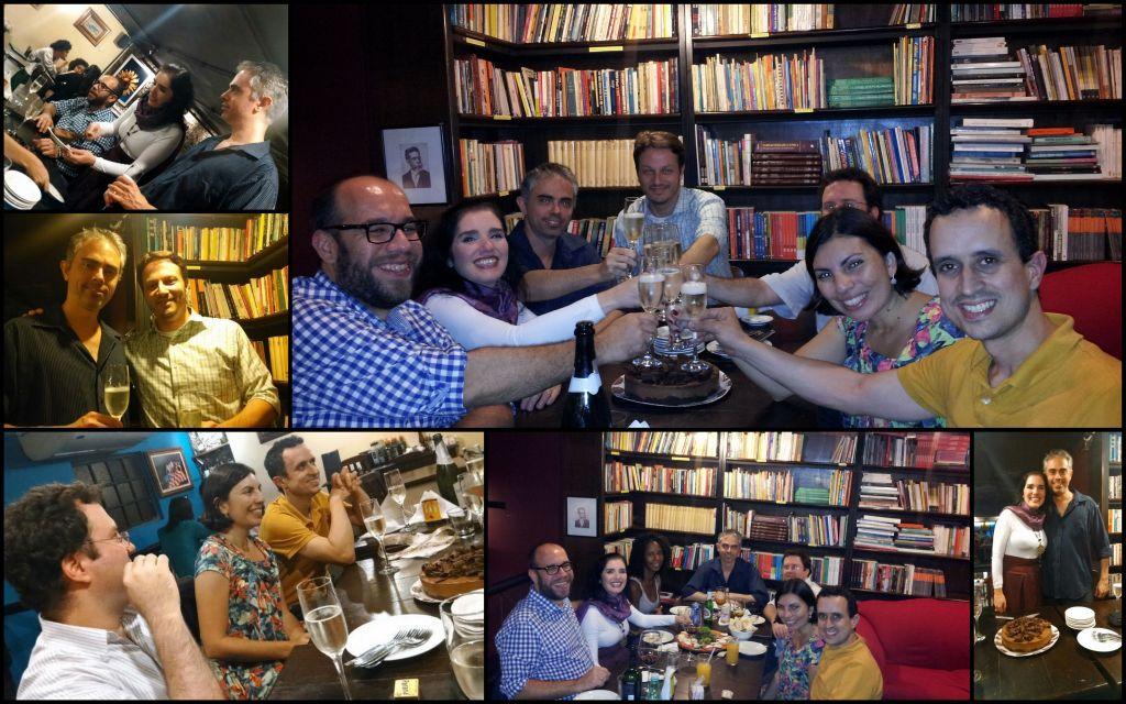 Comemoração de 10 anos da Livre Docência - Livraria Prefácio 30/05/2014